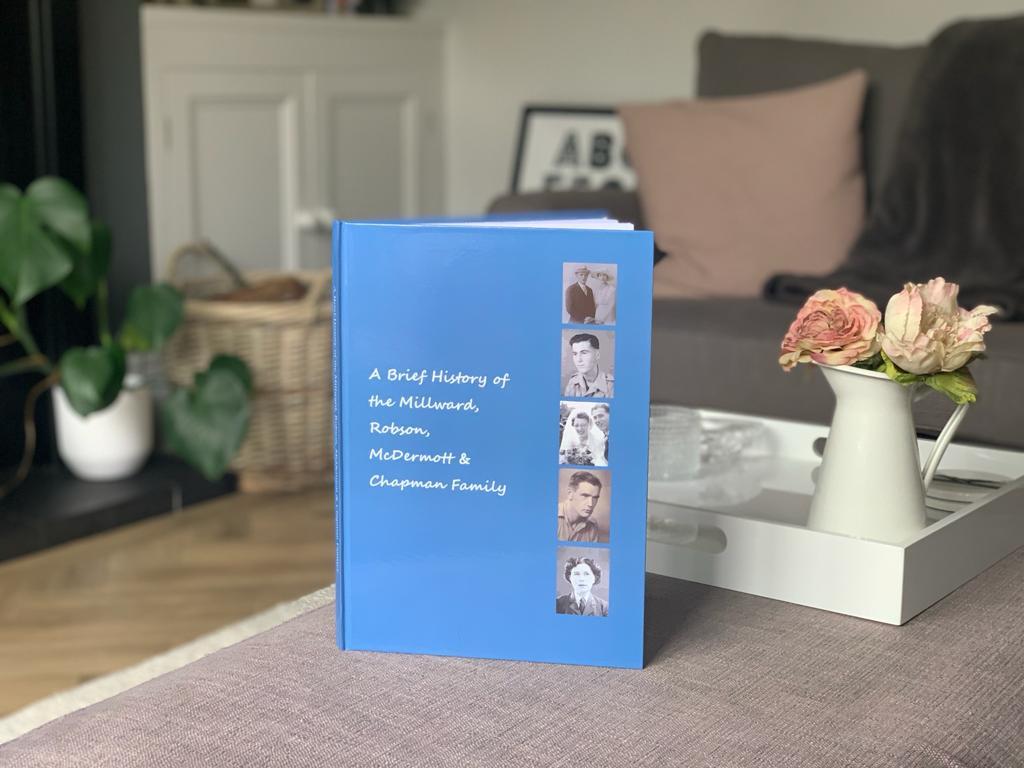 A New Hardback Book Option To Treasure Your Family History